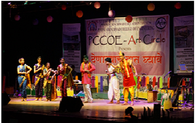 PCCOE is comes under the Top Engg Colleges in Pune